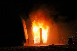 Mỹ công bố hình ảnh phóng tên lửa tấn công Syria