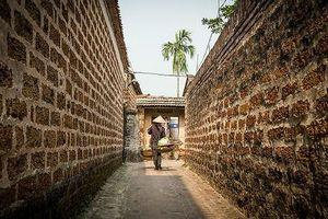 'Nhà Đá ong' nét độc đáo trong kiến trúc xây dựng tại làng cổ Đường Lâm