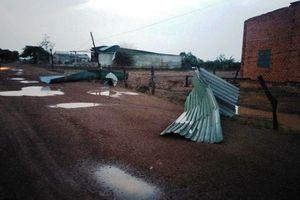 Đắk Lắk: Hàng trăm nhà tốc mái do mưa lớn kèm lốc xoáy