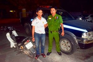 Huế: Cảnh sát 113 đuổi bắt đối tượng 6 tiền án trộm cắp tài sản