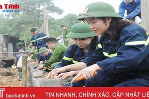 Tuổi trẻ Hà Tĩnh hỗ trợ Thạch Tiến xây dựng nông thôn mới