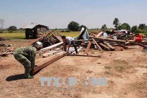 Khắc phục hậu quả lốc xoáy và mưa đá gây thiệt hại nặng tại Ea Súp