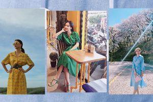 Xuống phố ngày hè mà thiếu sơ-mi váy như Quỳnh Anh Shyn, Angela Phương Trinh thì chưa thể gọi là cô nàng thời thượng