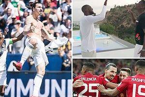 Ibrahimovic tổ chức tiệc chia tay, mời cả đội M.U