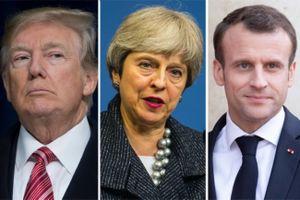 Lãnh đạo Anh, Pháp bị chỉ trích vì bắt tay Mỹ tấn công Syria