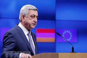 Cựu Tổng thống Serzh Sarkysyan đắc cử Thủ tướng Armenia