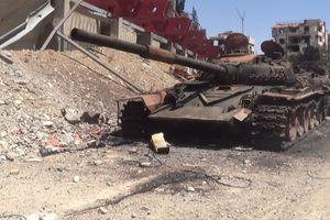 Quân đội Syria đại phá Đông Ghouta: Xe tăng, thiết giáp cháy hỏng la liệt khắp tử địa Douma