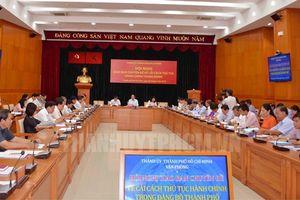 Hiệu quả từ việc đẩy mạnh công tác cải cách thủ tục hành chính trong Đảng ở Thành phố Hồ Chí Minh