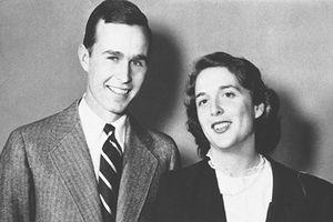 Chuyện tình đẹp như mơ của cựu Tổng thống George H.W. Bush