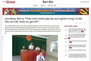 Vụ 'Thiếu trách nhiệm gây hậu quả nghiêm trọng' ở Lâm Đồng: Đã hình sự hóa các quan hệ kinh tế, hành chính?