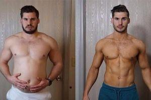 Từ chàng trai nặng gần 100 kg đến 'soái ca 6 múi' sau 3 tháng