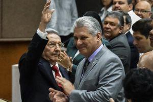 Ông Miguel Diaz-Canel tuyên thệ nhậm chức chủ tịch Cuba
