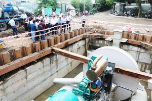 Hệ thống 'siêu máy bơm' đã giúp giảm ngập đường Nguyễn Hữu Cảnh