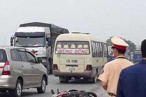 Thái Bình: Một người tử vong sau tai nạn liên hoàn