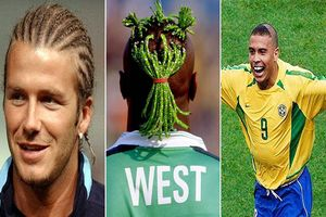 Top 10 kiểu tóc ghi dấu ấn khó quên nhất trong lịch sử bóng đá: Vinh danh Beckham