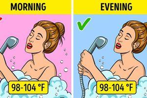 12 thói quen buổi sáng làm buổi tối có lợi hơn vạn lần