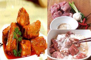 Công thức món ăn: Bữa trưa với 3 món ngon từ sườn, ai cũng thích mê