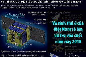 Vệ tinh thứ 6 của Việt Nam sẽ lên vũ trụ vào cuối năm nay 2018