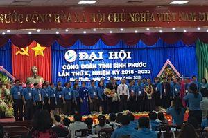 Ông Nguyễn Hồng Trà tái đắc cử Chủ tịch LĐLĐ tỉnh Bình Phước