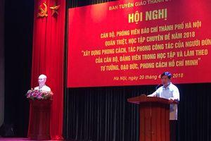 Học tập chuyên đề xây dựng tác phong công tác theo tư tưởng, đạo đức, phong cách Hồ Chí Minh