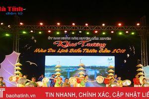 Thiên Cầm chính thức khai trương mùa du lịch biển 2018
