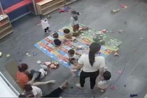 Nghệ An: Nữ giáo viên kẹp chân, tát bé mầm non