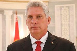 Ông Miguel Diaz-Canel Bermudez được bầu làm Chủ tịch Hội đồng Nhà nước và Hội đồng Bộ trưởng Cuba