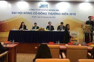 Đại hội đồng cổ đông MBS: Năm 2018 phải tìm xong đối tác chiến lược