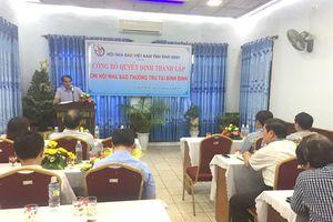 Bình Định: Thành lập Chi hội Nhà báo thường trú