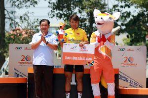 Chặng 22 giải xe đạp Cúp Truyền hình TP.HCM: Nguyễn Tấn Hoài tỏa sáng