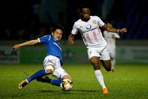 T.Quảng Ninh 1-0 Nam Định: Sự dũng cảm bất thành của đội bóng thành Nam