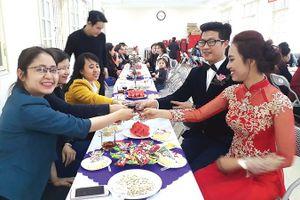 Hạnh phúc đám cưới 'siêu tiết kiệm'