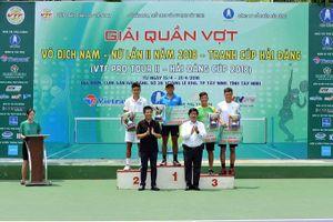Lý Hoàng Nam dễ dàng vô địch Giải VTF Pro Tour II
