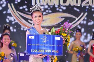 Tân Hoa hậu Biển Toàn cầu 2018 không nhớ hết tên 12 huyện đảo Việt Nam!