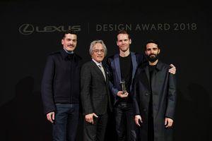 Lộ diện tác phẩm chiến thắng Giải thưởng thiết kế của Lexus 2018
