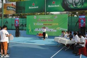 Doanh nhân 5 tỉnh miền Trung dự giải giải Tennis Doanh nhân Đà Nẵng mở rộng