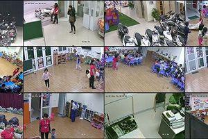 Huyện miền núi lắp đắt camera cho các trường mầm non