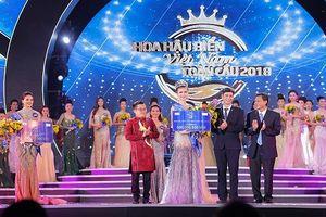 Người đẹp Kim Ngọc đăng quang Hoa hậu Biển Việt Nam Toàn cầu 2018