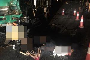 Tai nạn giao thông kinh hoàng, 4 học sinh tử vong