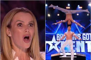 Màn chống đầu leo thang của anh em Quốc Cơ - Quốc Nghiệp chấn động Britain's Got Talent