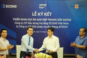 Công ty xây dựng ECONS Việt Nam ứng dụng giải pháp quản trị SAP ERP