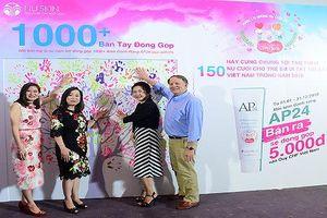 Nu Skin Việt Nam đẩy mạnh chương trình 'Mang lại nụ cười trẻ thơ'