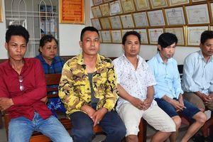 Công an đột kích tụ điểm đánh bạc hàng trăm triệu đồng ở Quảng Nam