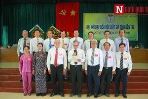 Đồng chí Trần Lương Phổ được bầu tái nhiệm Chủ tịch Hội Luật gia tỉnh Bến Tre