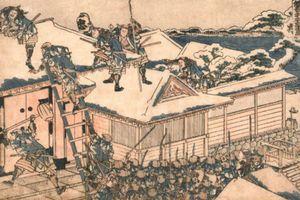 Vụ trả thù đẫm máu và tàn khốc của các võ sĩ Samurai khiến cả nước Nhật kính phục