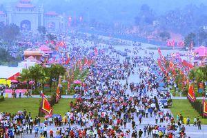 Hơn 3 triệu lượt khách về Giỗ Tổ Hùng Vương trong 4 ngày khai hội