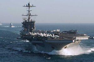 Tàu sân bay Mỹ lưu lại Địa Trung Hải đối phó Nga