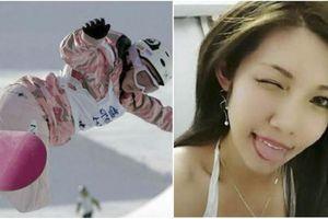 Cận cảnh màn trượt tuyết giành HCV của nữ diễn viên phim người lớn Nhật 'gây bão mạng'