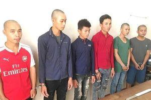 Đắk Lắk: Dùng mã tấu chặn xe cướp tiền, 6 đối tượng bị bắt