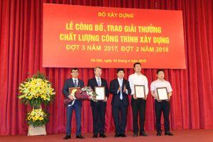 Trung Nam Group ăm trọn 2 giải thưởng công trình chất lượng cao